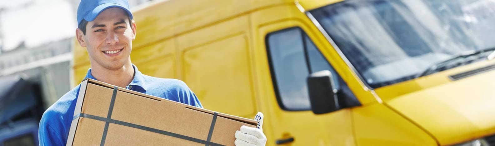 Man Delivering Order