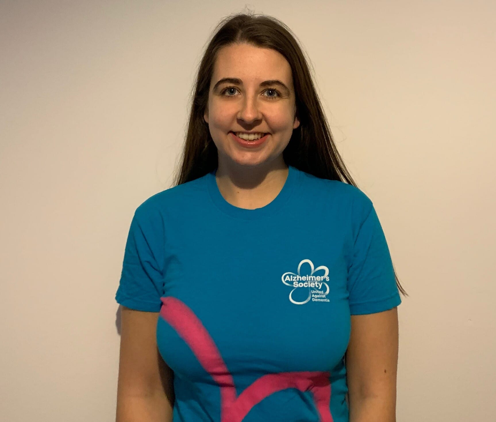 Emily Eveleigh, Special Events Manager at Alzheimer's Society
